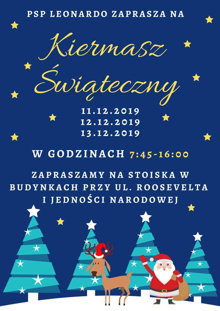 Boże Narodzenie Święta Plakat (2)-1